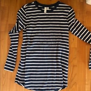 Nordstrom striped long sleeve, never worn